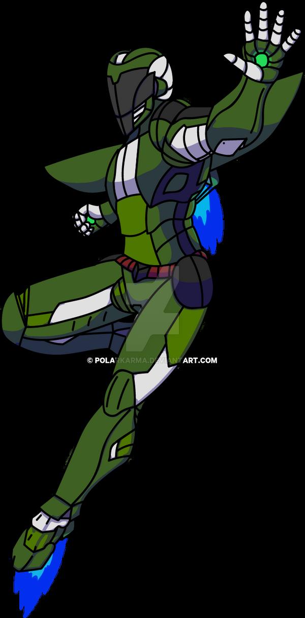 The Quirkless Hero: Deku | Suit Epsilon Colored V  by