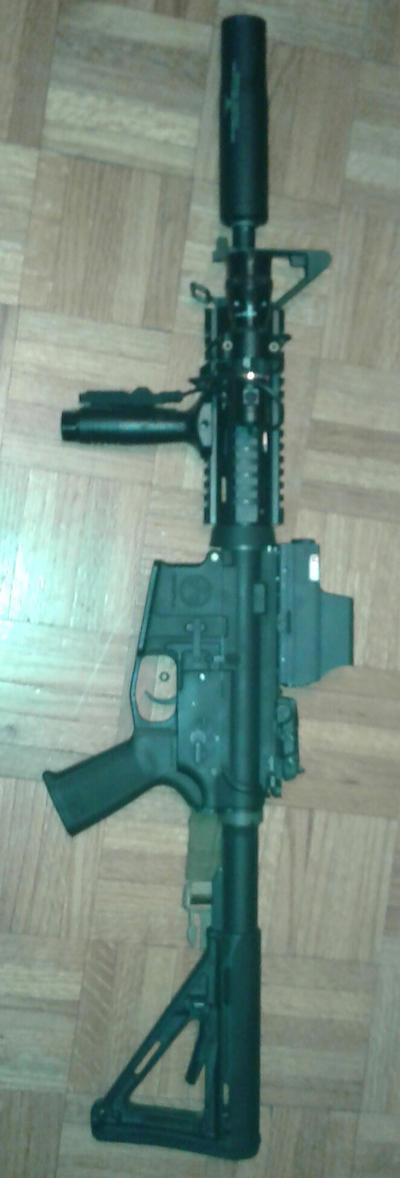 My Airsoft gun by t2a1