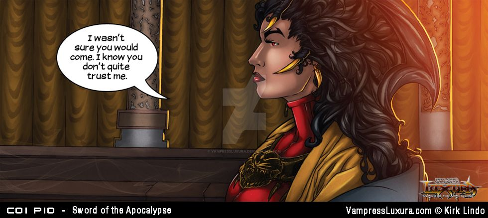 Sword of the Apocalypse Chapter 1 Panel 10 by VampressLuxura