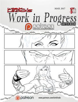Work in Progress Sketch Book #04 PDF