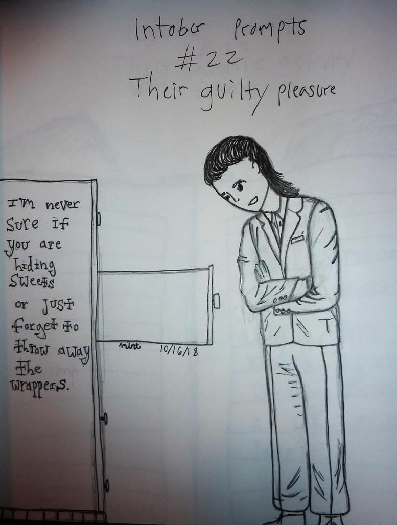 inktober__22__their_guilty_pleasure_by_c