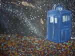 Flowerfield TARDIS by choppedmint