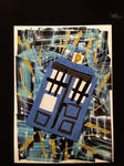 TARDIS Artist Trading Card -- 2020/02/01 by choppedmint