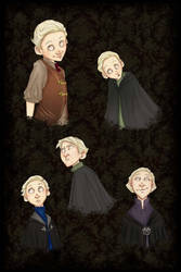 Young Malfoys by Forbis
