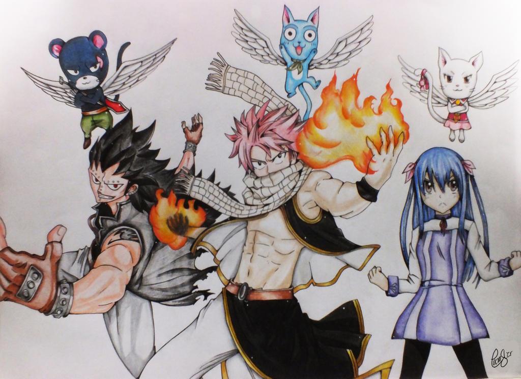 Dragon Slayers Fairy Tail
