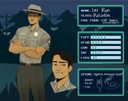 [INDIEVILLE] Park Ranger Lei Ran by Emiyey