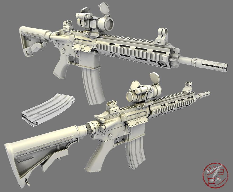 HK416,417 by Jonasrjp