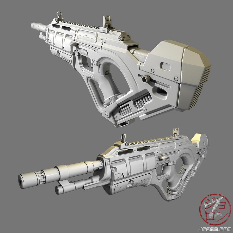 Futuristic weapon design by Jonasrjp on DeviantArt