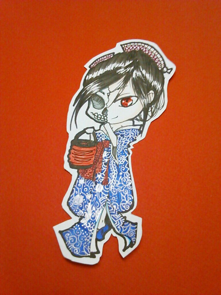 hone-onna chibi cut out by Envy4hearts
