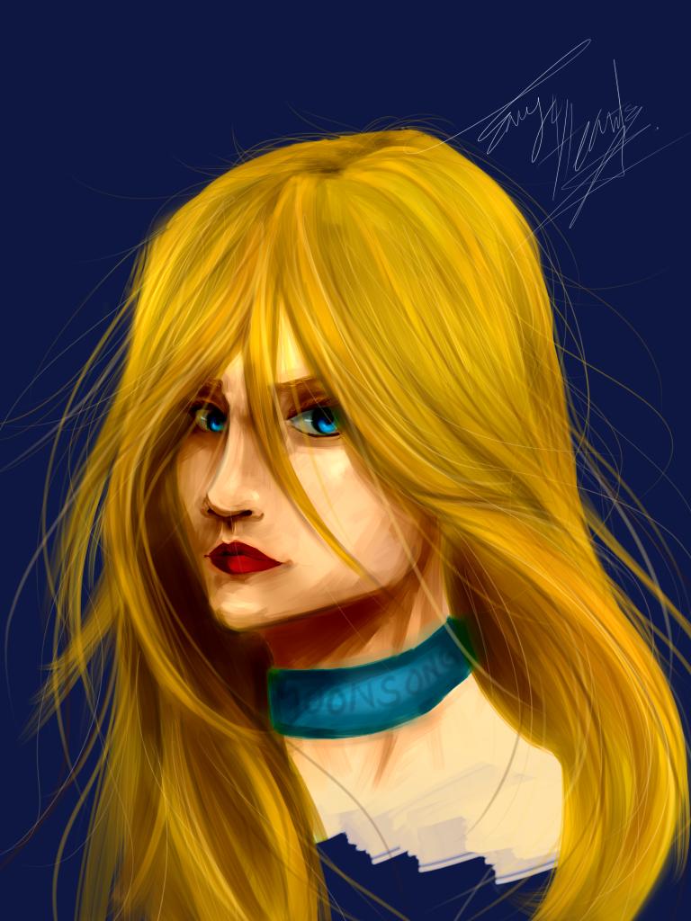 OC Portraits: Amadalia Moonsong by Envy4hearts