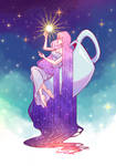 Tribute to Qinni: A cup of Milky Way