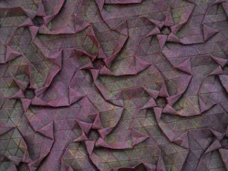Red Swirly Tessellation by brdparker