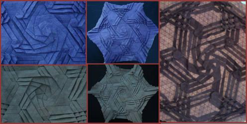 Purple Swirl Tessellation by brdparker