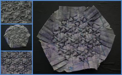 Purple Tessellation by brdparker