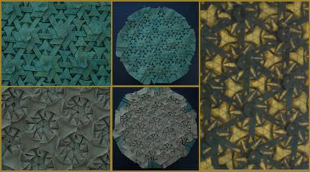 Green Star Tessellation by brdparker