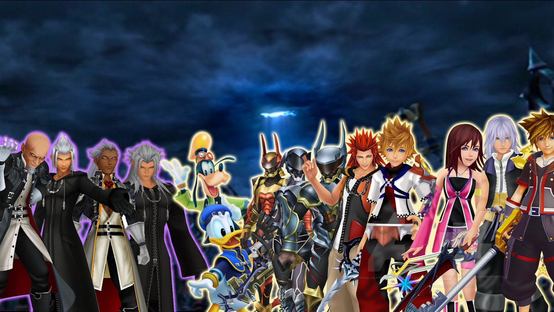 Kingdom Hearts 3 Wallpaper Concept by NecroMalice02 on ...