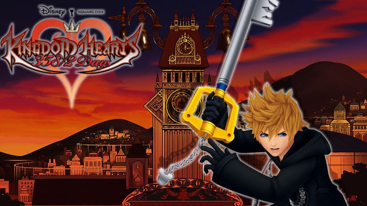Kingdom Hearts 358/2 Days Wallpaper Concept by NecroMalice02