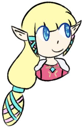 Zelda by IWSTW