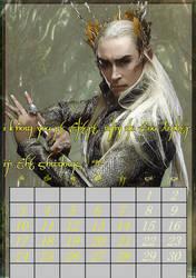 April/Thranduil/calendar2017 by MAR-y-s