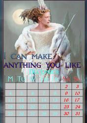 December/WhiteWitch/calendar2017 by MAR-y-s