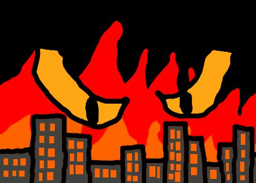 Inferno of Destruction by dragonrt