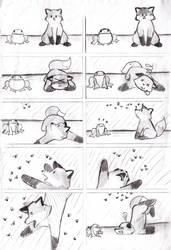 my stupidfox short-comic 2 by chukadrawer