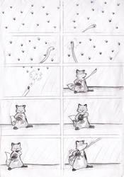 my stupidfox short-comic 3 by chukadrawer