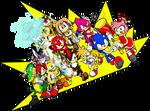 Sonic - Teams against Eggman