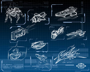 OC Sessions - Vehicle Designs by chemb0t