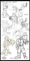 Character Design - Blitz