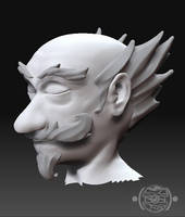 Zbrush - Delrin WIP by chemb0t