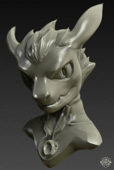 Character Bust test - Dragons on my mind