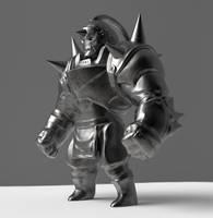 WIP - Alphonse Figurine