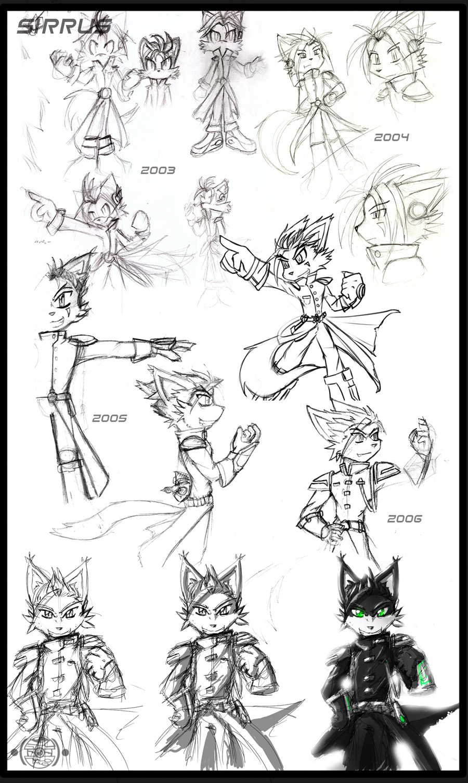 Character Design - Sirrus