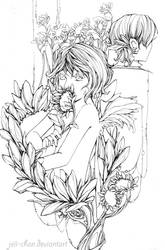 beyond the sunflower field by Jeii-chan