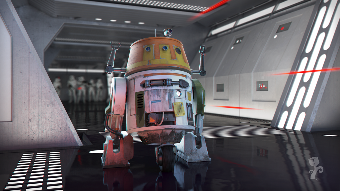 C1-10P Chopper (Star Wars Rebels) by ExPir