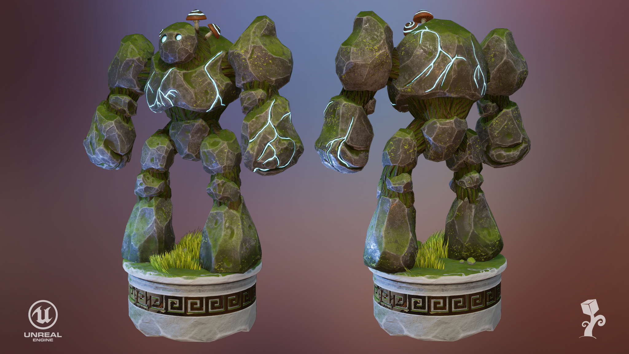 Golem rock guard I by ExPir