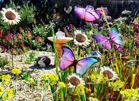 Butterfly Garden by happytimer