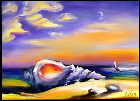 SEA-SHELL ON THE SEA-SHORE