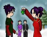 Garu's Mistletoe Surprise