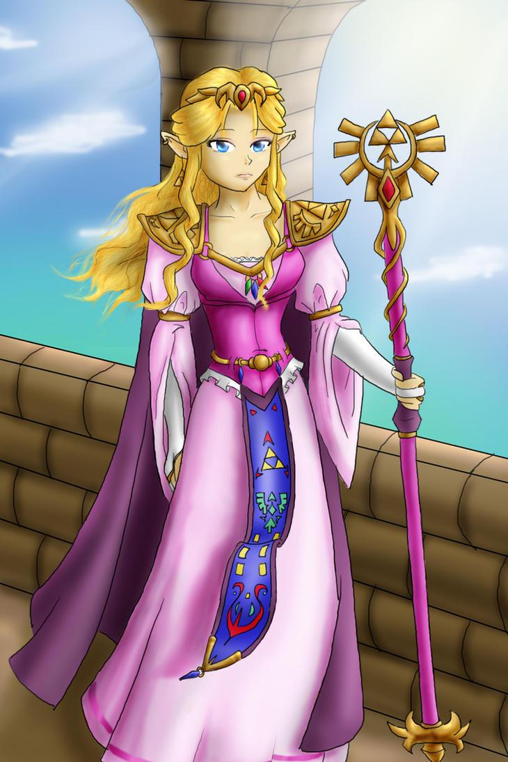 PTTP- Queen Zelda by SquirtSapphire