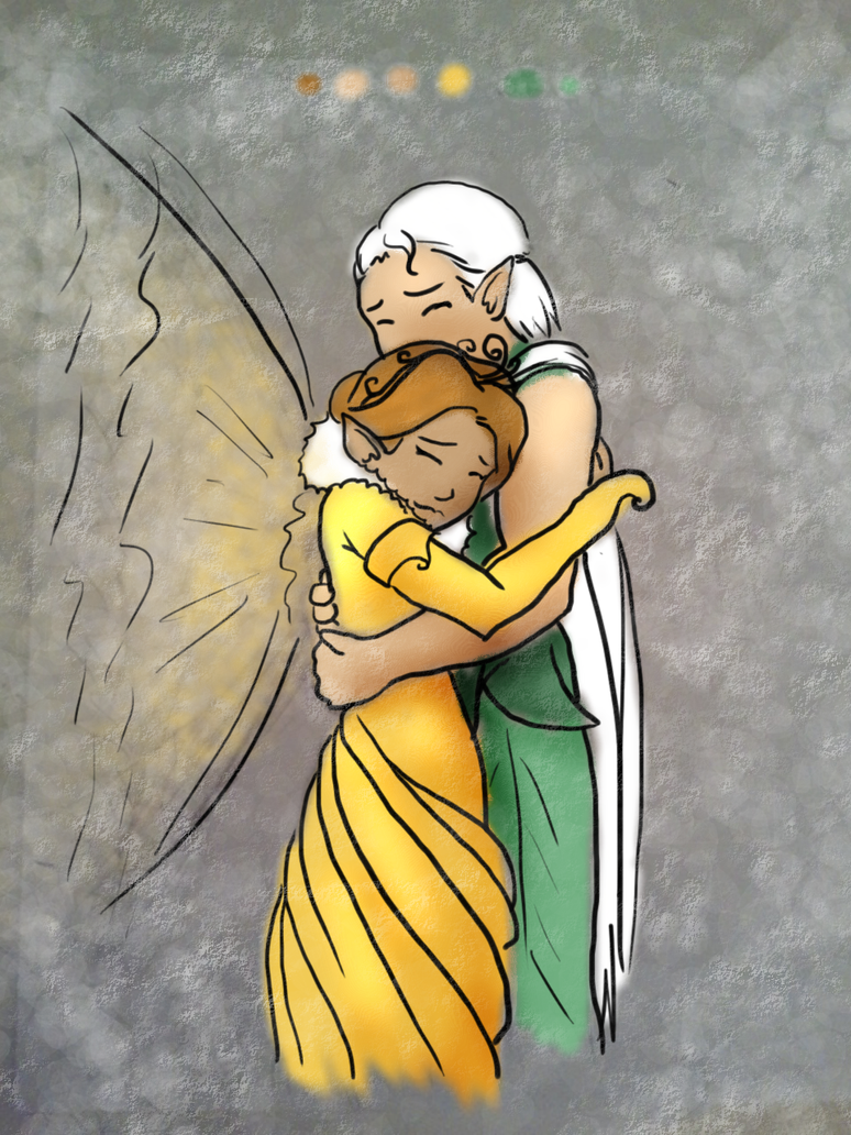 Tinkerbell Queen Clarion And Lord Milori Queen clarion and lordQueen Clarion And Lord Milori Kiss