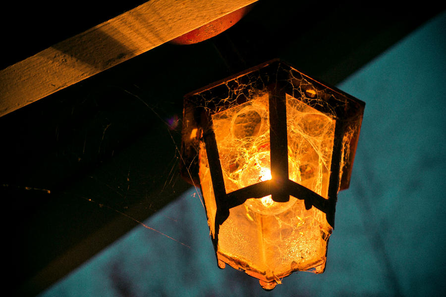 Old Lamp Evening 2 by AwakeNight