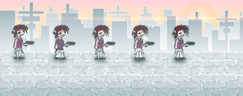Character Design and Art Style for Game #2 by AwakeNight