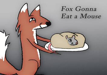 Fox Ready to Cook His Meal by AwakeNight