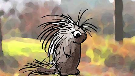 Porcupine by AwakeNight