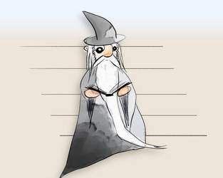 Wizard Reading by AwakeNight