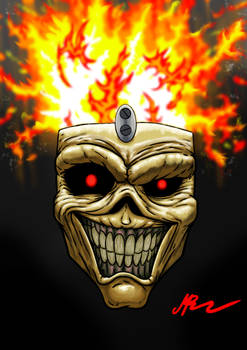 Eddie the Head from Iron Maiden