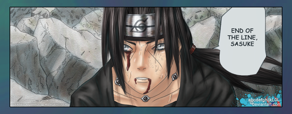 Naruto: Susano'o Itachi v2 by abcdefghijkL0L