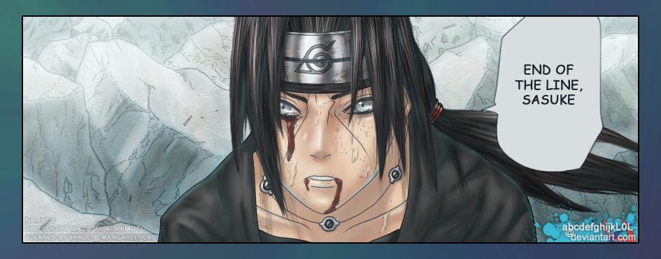 Naruto: Susano'o Itachi by abcdefghijkL0L